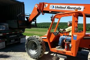 Forklift large