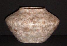 Mottled Brown Vase by Scott Meyer